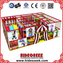 Tema de circo Barato Indoor Play Center para Restaurante
