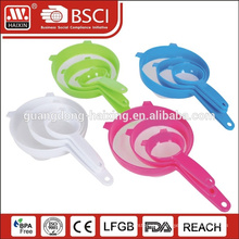 Kitchen Plastic silicone mesh water strainer
