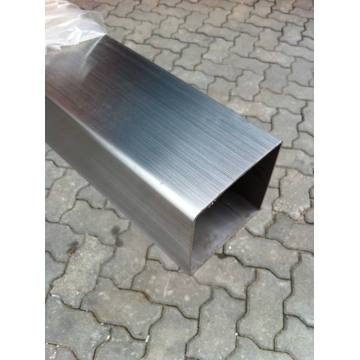 Welded Polished Stainless Steel Square Pipe