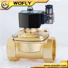 high temperature high pressure 220VAC lpg solenoid valve