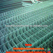 Green PVC coated cheap fence panel