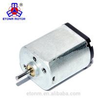 Mini motor fabricado en China Baja velocidad DC 3v 3000rpm Micro motor Baja tensión Mini DC Motor para caja fuerte y cerraduras
