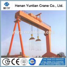 Double grue de portique de bâtiment de bateau de chantier naval