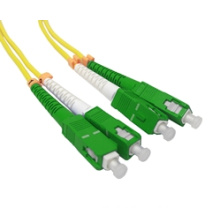 Sc/APC to Sc/APC Duplex Fiber Optic Patch Cord