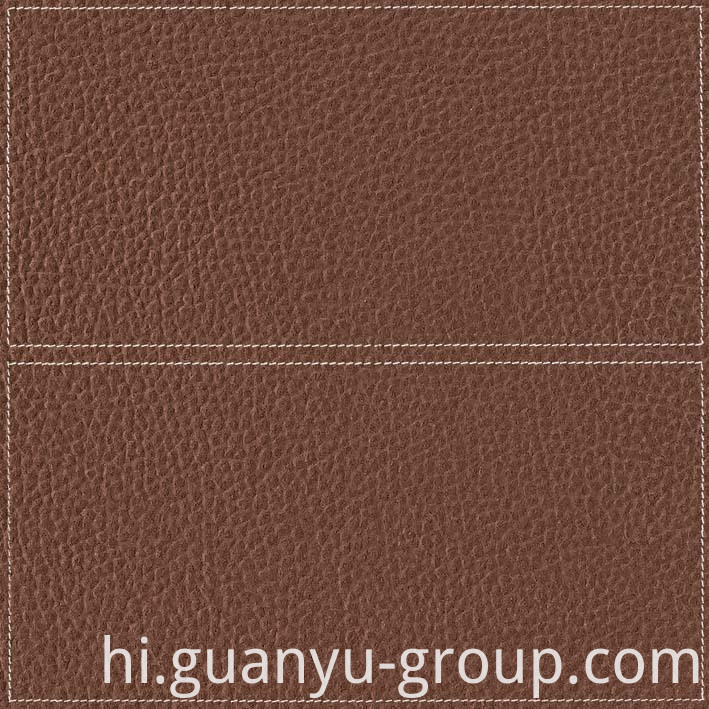 Brown Leather Look Rustic Porcelain Tile