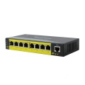 Switch POE Fast Ethernet 8 porte Uscita 802.3AF