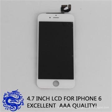 Alta qualidade do telefone móvel lcd de vidro screenfor iphone 6s