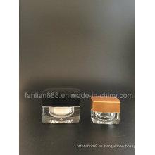 5g / 15g mini tarros de crema para el empaque cosmético / botellas de saco de muestra