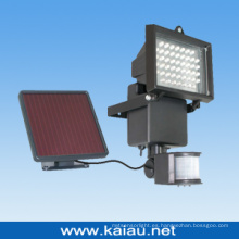 Luz del panel solar de 50PCS LED con el sensor de movimiento
