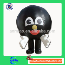 Bowling bola bowling pino inflável traje costume inflável trajes para publicidade