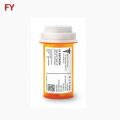 Logo printing designed package pill bottle labels