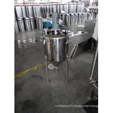 Fermenteur à brassage de bière en acier inoxydable avec jambes