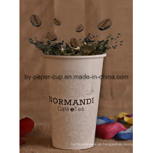 Copo de papel do café da bebida quente