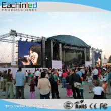 Никаких инструментов наружной установки мода шоу вел гигантский экран/светодиодный видео-экран Китай