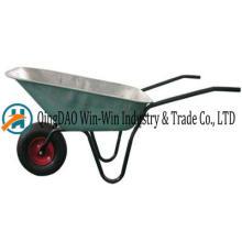 Wheelbarrow Wb6404b roda roda sólida