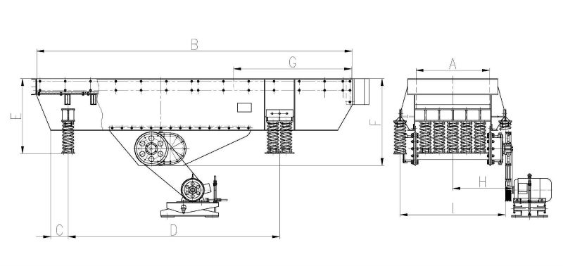 structure zsw vibrating feeder