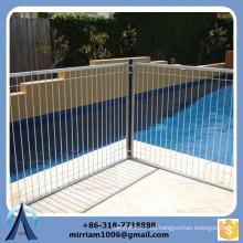2465 mm * 1339 mm Hohe Sicherheitsbarrieren für Poolzaun, abnehmbarer Mesh-Pool-Zaun, Schwimmbad-Zaun