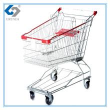 60L Asia Style Einkaufswagen mit Metallrahmen