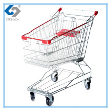 60L Asia Style Shopping Trolley with Metal Frame