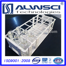 30mm 7*3 hole White Vial Rack for EPA VOA Vial
