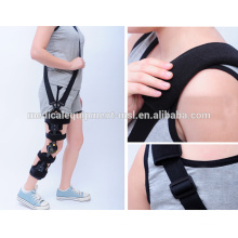 MSLKB04 Winkel verstellbare Knie Brace Medical Knie Stütze Brace