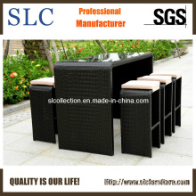 Wicker Bar Set/ Long Bar Table/ Outdoor Bar Furniture Set (SC-A7334)