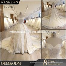 Kundenspezifisches populäres neues heißes Verkaufsqualitätsindisches Hochzeitskleid für Frauen