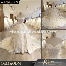custom popular newest hot sell high quality indian wedding dress for women