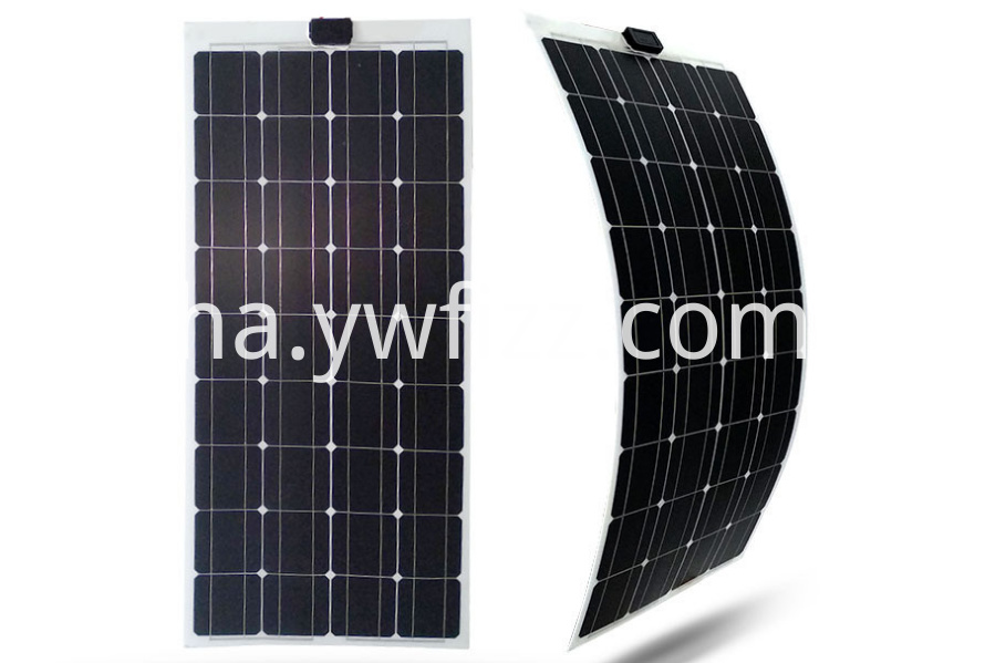 Flexible solar panels