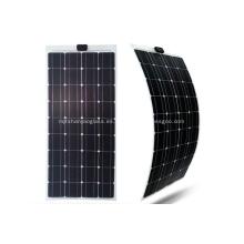 Sistema de generación de energía de un solo cristal con panel solar flexible