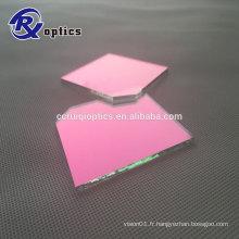 Filtre de coupure UV IR carré de 65mm