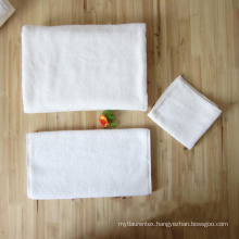 100% Cotton 16S Plain Bath Towel For Luxury Hotel