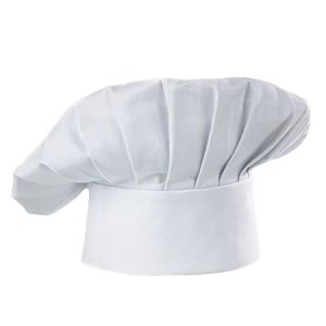 Chef Hat Adult Elástico Ajustable