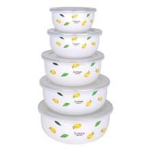 Tigela da salada do esmalte de 10-18cm 5PCS (LFC1041D)