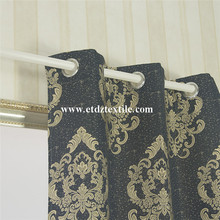 Personlized Products for Classical Jacquard Curtain Gromments 100% Polyester Window Curtain supply to Cambodia Factory