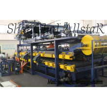 Máquina formadora de rollos del panel de sandwich con lana de roca | rollos de lana de roca