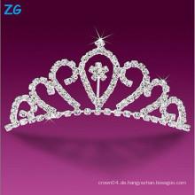Luxuriöse Kristallhochzeitskämme, Festzugskämme für Prinzessin, elegante Blumenhaarkämme