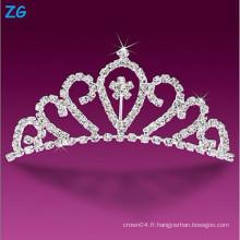 Peignoirs de mariage en cristal luxueux, peignes pour princesse, peignes de fleurs élégantes