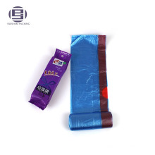 Custom heavy duty drawstring garbage bags
