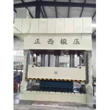 Presse hydraulique à emboutissage profond avec double cylindre