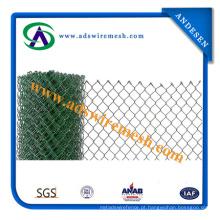 1 ′ ′ quente mergulhado galvanizado / PVC cerca do elo da cadeia