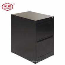 2018 современные дешевые цена черный 2 ящика стальной шкаф архива