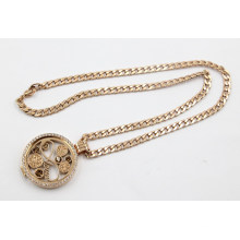 Luxry Rose Gold Living Locket Necklace