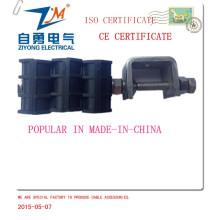 Tres vías para cable de fibra óptica Jma8 + 17 mm