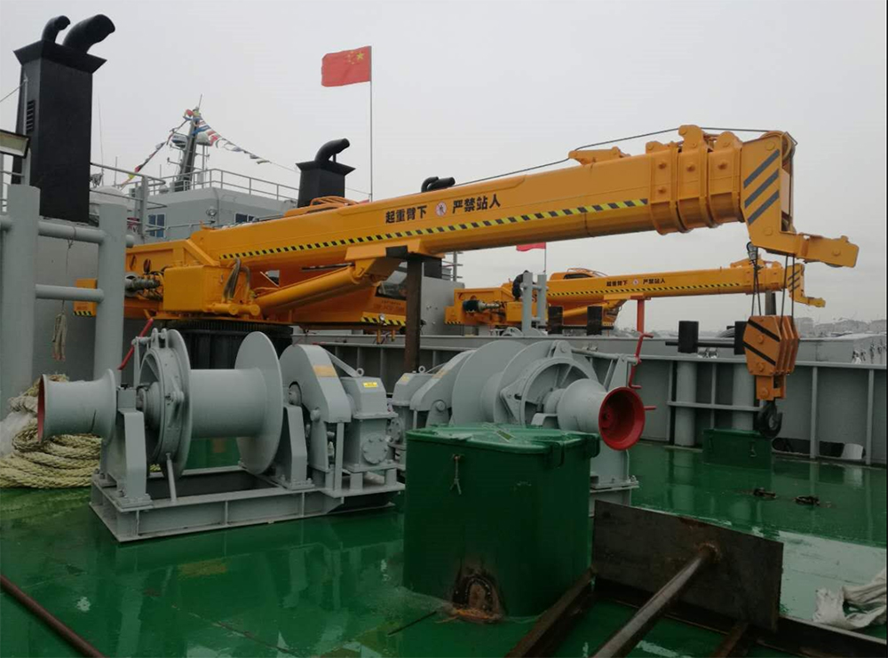 Marine Crane Inspection