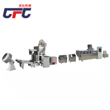 Food puffing machine processing line