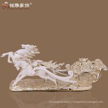 Vente en gros personnalisée figurine moderne cheval pour décoration intérieure