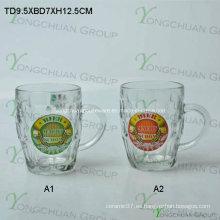 Copa de Oso de vidrio de 500ml con Decalque Niza Forma