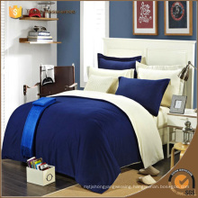 Quality Hotal House Home Plain Solid Color Bedding Sheet Duvet Cover Sets