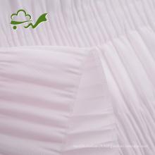 Tissu de doublure de cercueil fronçant de plis pour le cercueil